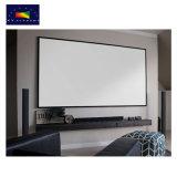 X-YスクリーンHD 92インチの薄い固定わくの投射Screen/16: 9平坦プロジェクタースクリーン