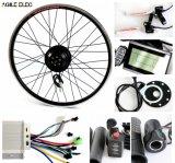 Kit eléctrico comprable ágil de la bici de la potencia verde de 36V 350W para cualquie bici