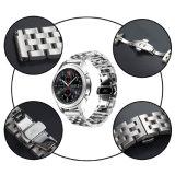 De Band van het Horloge van de Riem van de Vervanging van het Staal van Stainlese voor de Band van Samsung S3 22mm
