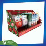 Affichage de comptoir de l'emballage en carton PDQ pour Promotion de Noël