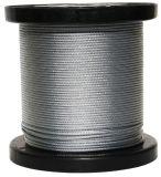 Acero inoxidable AISI 304 Cable embalados por 1000m/2000m por el molinete