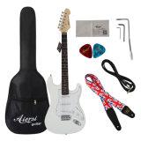 Оптовые цены на торговую марку Aiersi твердых St электрическая гитара для продажи
