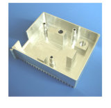 Cnc-Metalteil, maschinell bearbeitenblech, CNC-Metalltelefon-Kasten-maschinell bearbeitenteile
