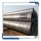 Soldado de carbono de pared doble tubo espiral negro tubo Espiral En 10224 Tubo de acero soldado