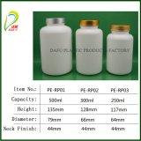 La cápsula de farmacéuticos de alta calidad HDPE Botella con tapa de metal