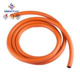 Mangueira trançada do gás do LPG da fibra do PVC para o fogão de gás do forno