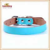 Des colliers de crabot en cuir réels plus épais d'animal familier de qualité (KC0121)