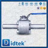 Didtekはステンレス鋼A105の浮遊球弁を造った