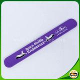Drucken-Firmenzeichen-Silikon-Verschluss-Band-Klaps-Armband für Weihnachtsgeschenk