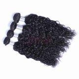 Les faisceaux de cheveux d'onde naturel vierge brésilien Cheveux humains