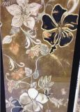 300x600mm pulido azulejos de cristal decorativo para pared Hotel