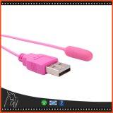 Masturbator do vibrador da bala do USB brinquedos adultos do sexo dos bocais do produto da manutenção programada do mini para mulheres dos homens