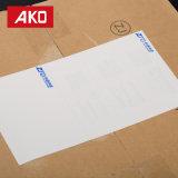 Soem nehmen wasserdichte weiße Pergamin-Zwischenlage-Verschiffen-Kennsätze an