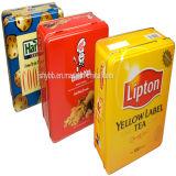 La latta della lacca dell'oro per il tè dell'alimento può fornitore professionale