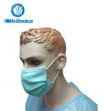 Grippe widerstehen medizinischer 3ply Gesichtsmaske-chirurgischer Schablone