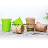 Tazza di carta delle bevande del caffè caldo caldo di uso