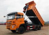 Sinotruk Cdw 6X4 무거운 덤프 트럭 25 톤 팁 주는 사람 트럭