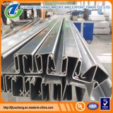 Perfil Unistrut pre galvanizado da canaleta de aço de C