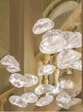 Hotel-Vorhalle-dekorativer eleganter Glasleuchter-hängende Beleuchtung (9869P)