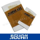 Contrassegno tessuto lavabile stampato a buon mercato personalizzato all'ingrosso
