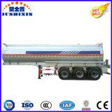 50tons 3axle Kraftstoff-Wasser-Tanker-Legierungs-Aluminiumbecken-halb Schlussteil