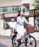 低い入口の電気自転車を持つElectric Bike Sella 250Wの女性