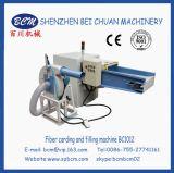Apertura de la fibra y máquina de rellenar para hacer el amortiguador