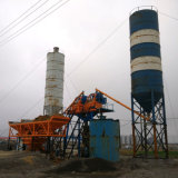 Mini Mobile Concrete Cement Batching Plant Price for Salts Hzs35 Seedling
