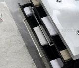 Lack-schwarze Farben-moderner Furnierholz-Wand-Montierungs-Badezimmer-Schrank (ACS1-L56)
