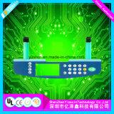 Interruptor de membrana médico del telclado numérico de control del interruptor flexible impermeable de la película