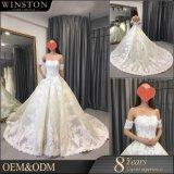Hochwertige Stickerei-Entwürfe für Hochzeits-Kleid