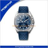 Le quartz de luxe fait sur commande de montre de mode d'OEM de constructeur de Shenzhen observe des hommes