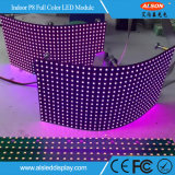Módulo flexible de interior a todo color de la visualización de LED P8 con Kinglight SMD3535 LED
