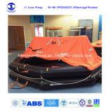 L'approbation de la convention Solas Cheap Marine jeter par dessus bord du radeau de sauvetage gonflable/radeau de sauvetage