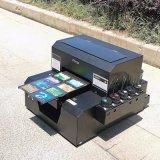 Größen-Flachbett-UVdrucker des Fokus-A4 für Belüftung-Karte, Telefon-Kasten-Drucken