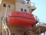 Total beiliegendes/freies Fall-Rettungsboot/Rettungsboot mit Plattform-Davit