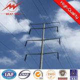 Линия стальная башня передачи электроэнергии пробки Monopole