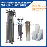 Industrielles Edelstahl-Beutelfilter-Hochdruckgehäuse des Mikron-5um
