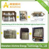 1つの太陽電池パネルランプスマートなLEDの太陽街灯の熱い販売の動きセンサーの太陽エネルギーの屋外の照明すべて