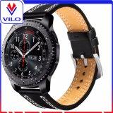 De echte Slimme Riem van de Band van het Horloge van het Leer van de Armband van het Horloge voor het Toestel van Samsung S3
