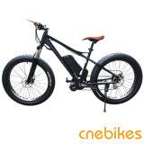 26*4.0 [1000و] قوسيّة كهربائيّة درّاجة إطار العجلة سمين درّاجة كهربائيّة مع بطارية