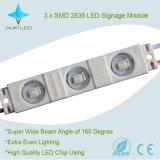 Module 160degree d'injection de Ww/Pw/Cw 65lm SMD2835 DEL avec la lentille pour l'étalage électronique de Signage/LED/cadre léger/décoration