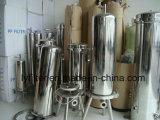 SUS316L 304 7 8 La position de base de la cartouche du filtre à eau en acier inoxydable de logements pour le traitement de filtration finale