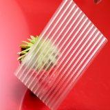 Hoja plástica clara reciclada el 100% de la depresión del policarbonato del panel para el invernadero