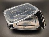 Boîte d'emballage des aliments à usage unique de style européen de 1000ml Boîte à lunch