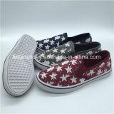 Эбу системы впрыска для женщин Hotsale Canvas обувь повседневная обувь с хорошей ценой (PY0315-2)