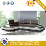 Sofà moderno del cuoio dell'hotel della mobilia del salone (HX-S240)