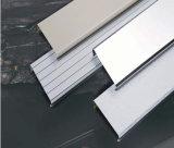 Techo linear de aluminio incombustible del departamento de China de la capa en línea del polvo