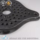 Producto negro de la placa del Sic del panel del ladrillo refractario del carburo de silicio