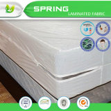 二重層の保護白く完全で柔らかいテリーの上の防水プラスチックマットレスのカバー